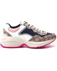 Gucci Rhyton Sneakers - Blue