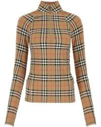 Burberry Vintage Check Long-sleeve Top - Multicolour
