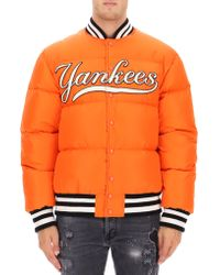6c47c269ed1 Gucci - Men s Bomber Jacket With Ny Yankeestm Patch - Lyst