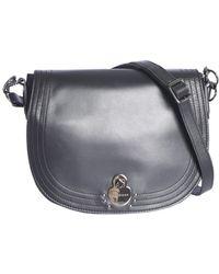 Longchamp - Logo Plaque Shoulder Bag - Lyst