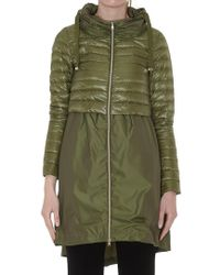 Herno - Layered Padded Coat - Lyst