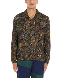 Stussy Cypress Paisley Long-sleeve Shirt - Multicolour