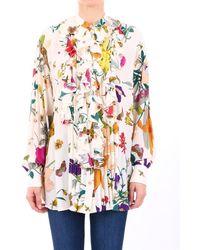 Gucci Floral Print Blouse - Multicolour