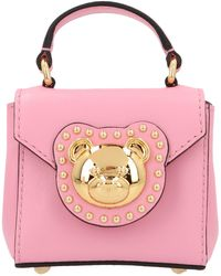 Moschino Teddy Micro Crossbody Bag - Pink