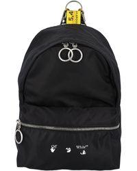 Off-White c/o Virgil Abloh Logo Printed Mini Backpack - Black