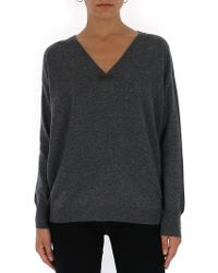 Brunello Cucinelli Cashmere Sweater - Gray