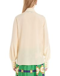 Gucci Classic Collar Buttoned Shirt - Natural