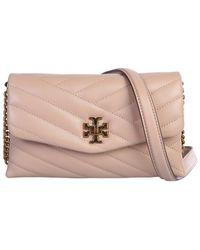 Tory Burch Kira Crossbody Bag - Natural