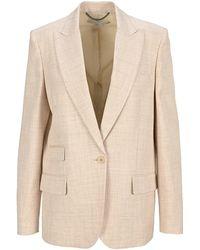 Stella McCartney Bell Tailored Jacket - Natural