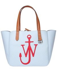 JW Anderson Belt Tote Bag - Blue