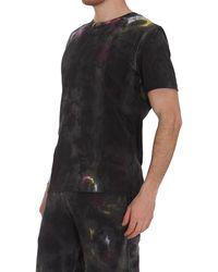 McQ Tie Dye T-shirt - Black