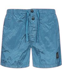 Stone Island Shell Swim Shorts - Blue