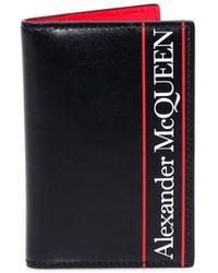 Alexander McQueen Logo Bifold Wallet - Black