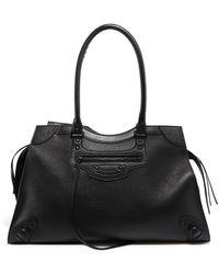 Balenciaga Neo Classic Large Top Handle Bag - Black
