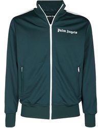 Palm Angels Logo Track Jacket - Green