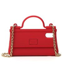 Dolce & Gabbana Iphone X/xs Phonecase Handbag - Red