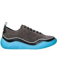 Lanvin Men's Shoes Suede Trainers Trainers - Multicolour