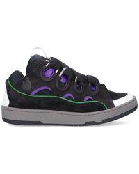 Lanvin Curb Low-top Sneakers - Black
