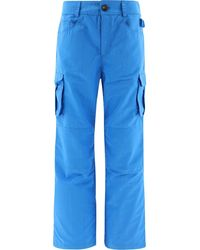 "Marine Serre ""survival"" Cargo Trousers - Blue"