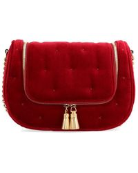 Anya Hindmarch Vere Small Satchel Bag - Red