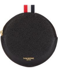 Thom Browne Pebble Coin Purse - Black