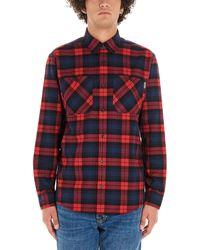 Carhartt WIP Pelkey Flannel Shirt - Red