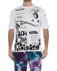 Mauna Kea Graphic Print T-shirt - White