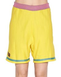 Marni - Colour Block Shorts - Lyst