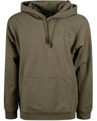McQ Logo-appliqué Pullover Hoodie - Brown