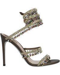 Rene Caovilla René Caovilla Cleo Chandelier Sandals - Multicolor