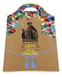 Lanvin X Gallery Dept. Kraft Paper Medium Grocery Bag - Natural