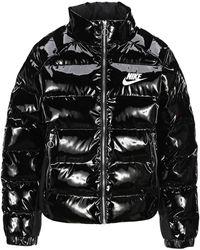 Nike Icon Clash Puffer Jacket - Black