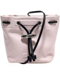 Longchamp Drawstring Bucket Bag - Pink