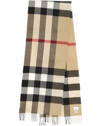 Burberry Icon Check Fringed Scarf - Multicolour