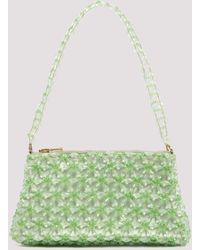 Shrimps Dabba Beaded Shoulder Bag - Green