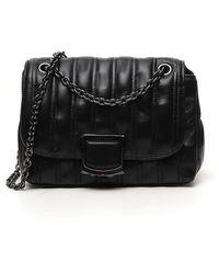 Longchamp Brioche Small Crossbody Bag - Black