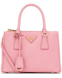 Prada Galleria Mini Tote Bag - Pink