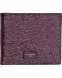 Dolce & Gabbana - Leather Wallet - Lyst