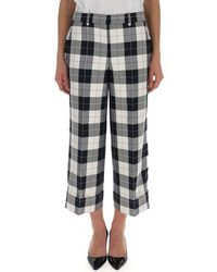 Thom Browne Checked Crop Pants - Multicolor