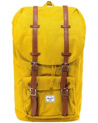Herschel Supply Co. Little America Canvas Backpack - Yellow