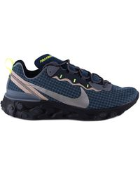 Nike React Element 55 Trainers - Blue