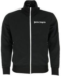 Palm Angels Logo Track Jacket - Black