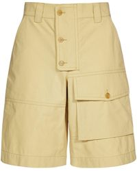 Jacquemus Laurier Workwear Shorts - Yellow