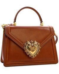 Dolce & Gabbana Devotion Bag - Brown