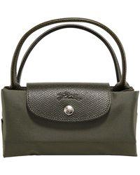 Longchamp Le Pliage Top Handle Bag - Green
