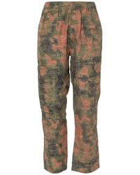 Stussy Reverse Jacquard Relaxed Trousers - Multicolour