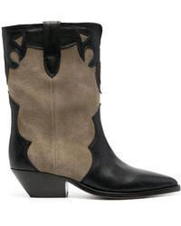 Isabel Marant Duoni Cowboy Boots - Multicolour
