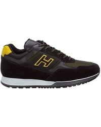 Hogan H321 Low Top Sneakers - Black