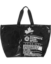 DSquared² Women's Spw0038168039272124 Black Other Materials Tote