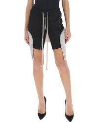 Rick Owens Zipped Pocket Mini Skirt - Black